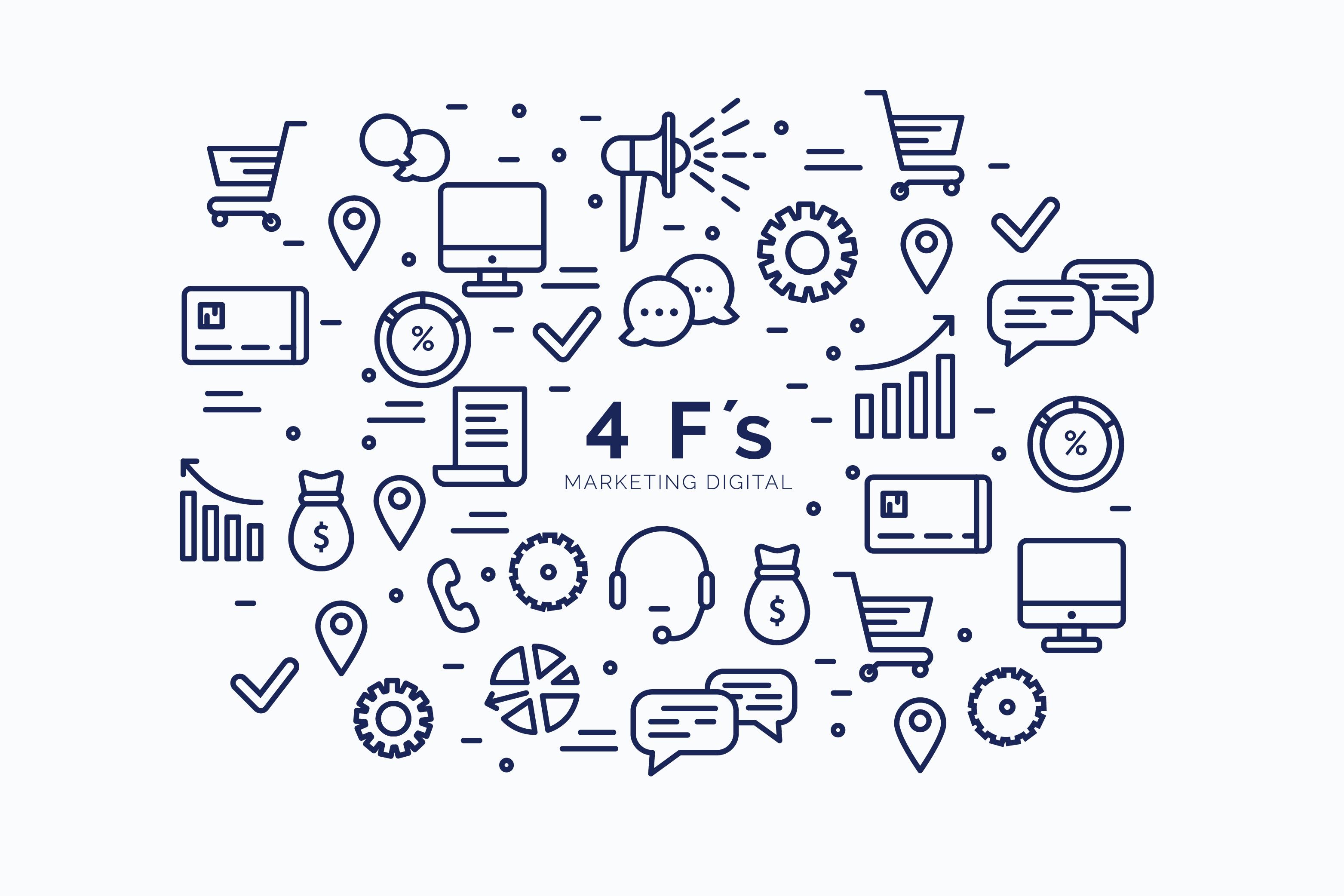 Las 4 F's del marketing digital