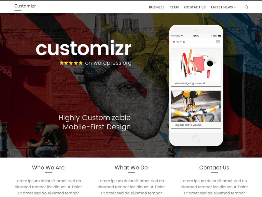 Mejores plantillas de WordPress gratis y premium para tu página web 3
