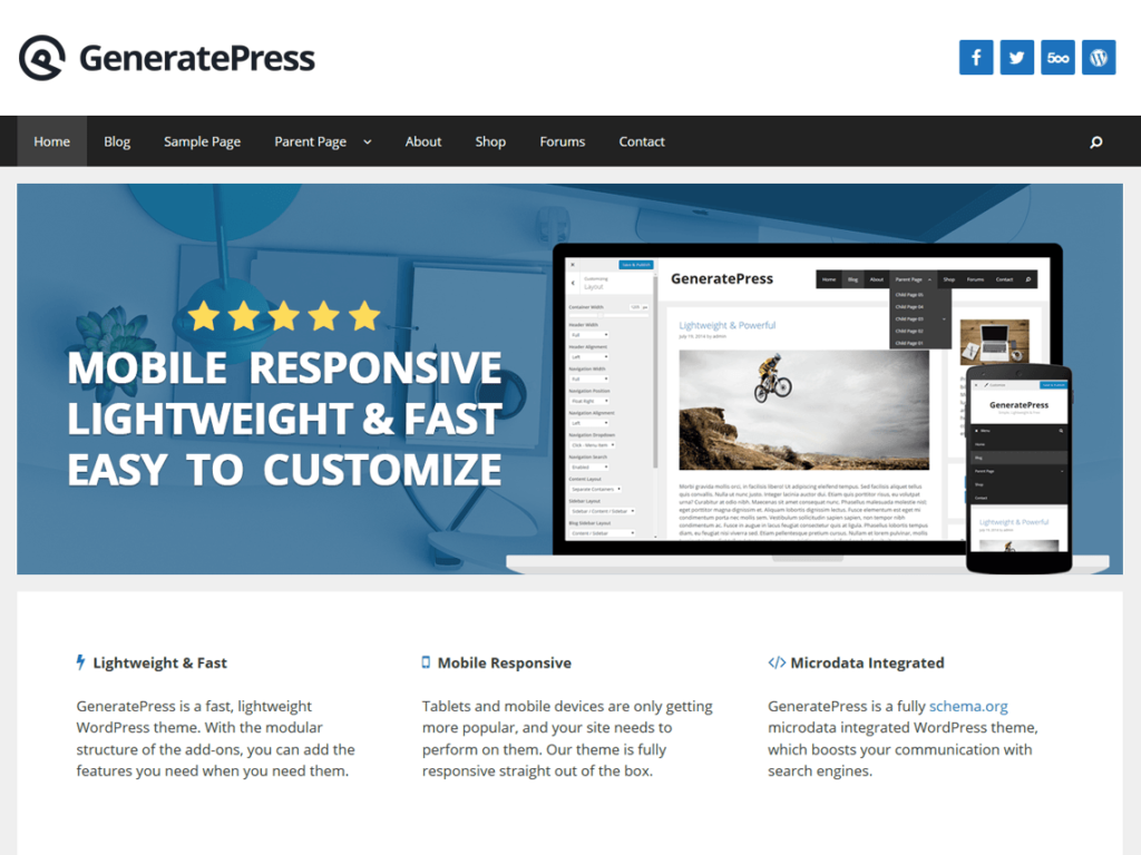 Mejores plantillas de WordPress gratis y premium para tu página web 4