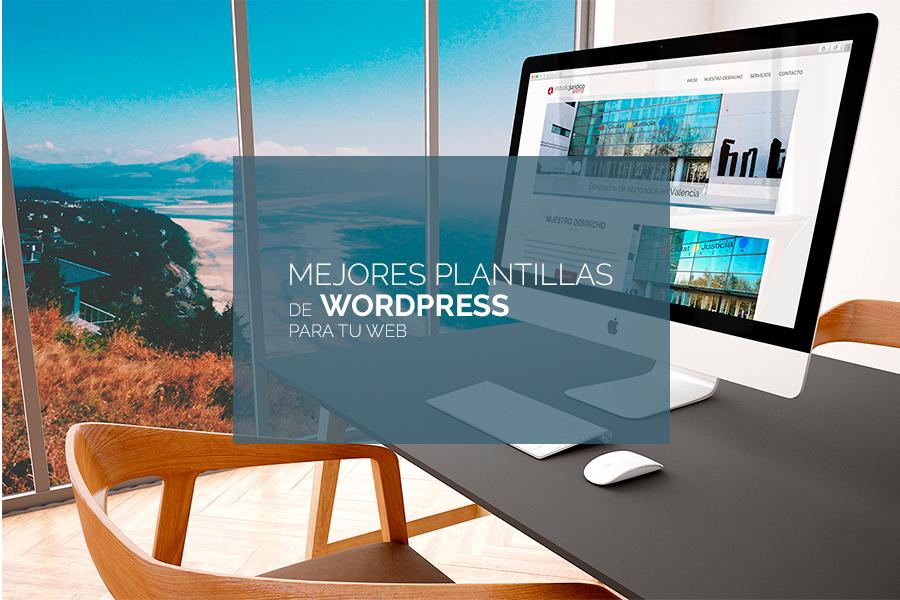Mejores plantillas de WordPress gratis y premium para tu página web.