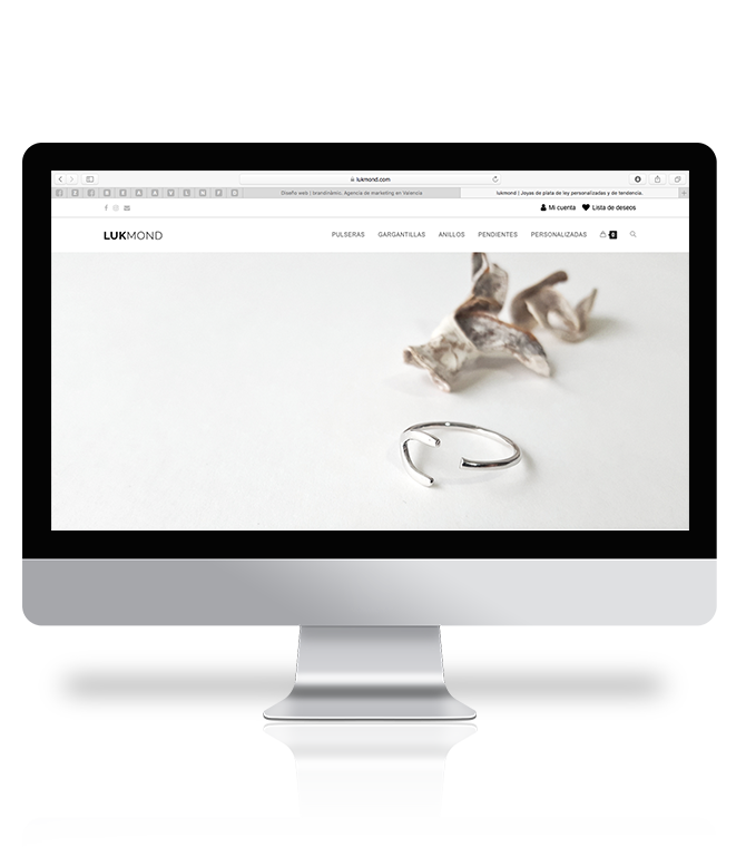 diseño tienda online brandinamic