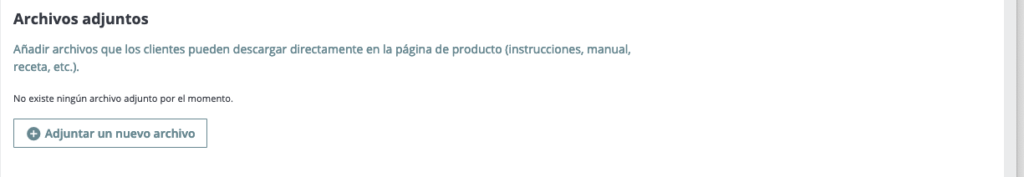 Crear productos en Prestashop 1.7 40