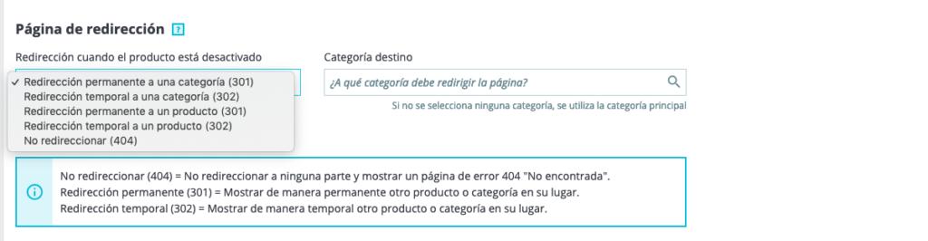 Optimización SEO de productos en Prestashop 1.7 3