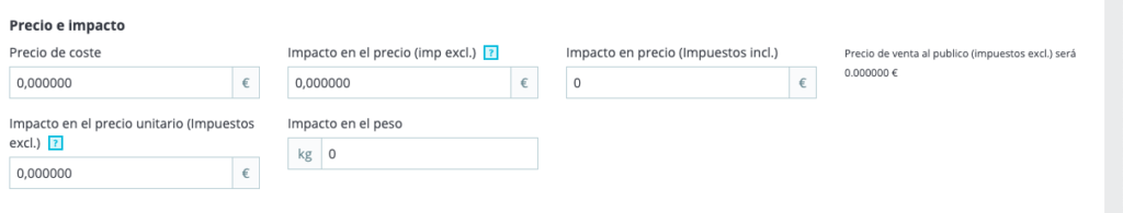 Crear productos con combinaciones en Prestashop 1.7 20