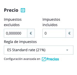 Crear productos en Prestashop 1.7 9