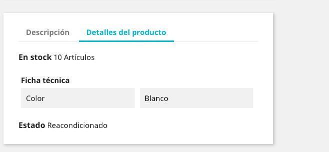 Crear productos en Prestashop 1.7 38