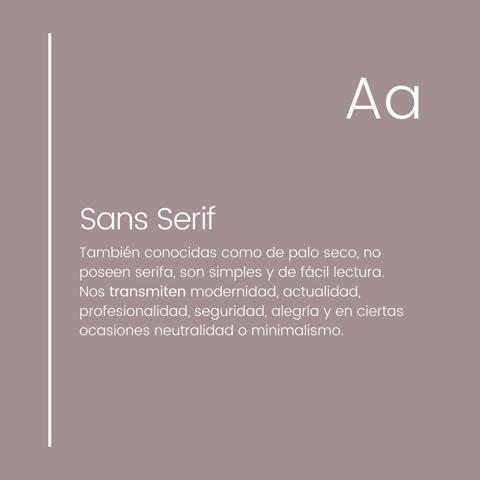 ¿Qué comunica cada tipografía? 2