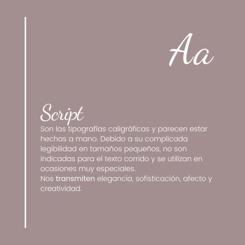 ¿Qué comunica cada tipografía? 3